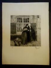 Rare eau-forte de Georges Hyppolyte DILLY  (1876-1942)