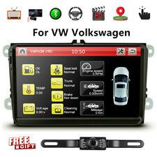 9'' Car Stereo Radio Player GPS Navi CANBUS For VW Jetta Passat MK5 MK6+ Camera