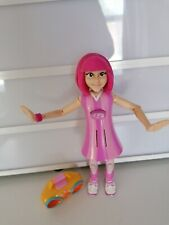 Lazy Town Stephanie Talking Figure Mattel 2004 With Bag And Boombox