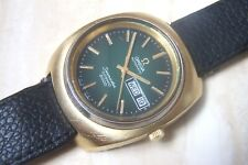AN OMEGA SEAMASTER COSMIC 2000 CALENDER WRISTWATCH c.EARLY 1970'S