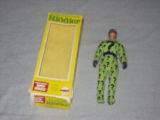 """Reproduction Vintage 1973 Mego WGSH 8"""" Riddler Action Figure With Box"""