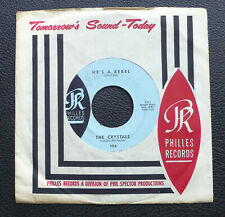 """7"""" The Crystals - He's A Rebel - US Philles"""