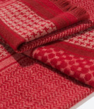 NWT AUTHENTIC ZARA Double Sided Blanket Scarf Shawl Wrap Poncho RED 0247/222