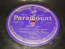 Paramount 20065 78 RPM Harry Yerkes S.S. Flotilla Moonlight Peggy O'Neil 19221