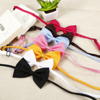 50Pcs Wholesale Pet Dog Puppy Necktie Bow Tie Ties Collar Grooming out lot AU9