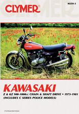 CLYMER Repair Manual for Kawasaki KZ900, KZ1000, Z1R, C Series Police Models