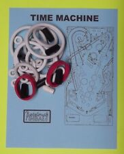 1988 Data East Time Machine pinball rubber ring kit