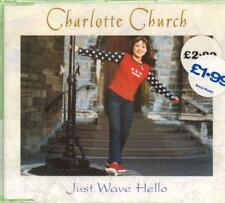 Charlotte Church(CD Single)Just Wave Hello-New