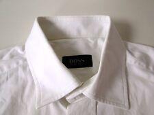 Hugo Boss Slim Fit Herren Hemd Langarm Weiß Unifarben KW40