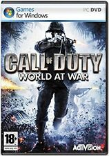 Call OF DUTY WORLD AT WAR Pc-Sigillato Nuovo di zecca e