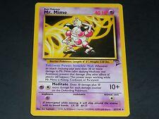 Pokemon Base Set 2 RARE Mr. Mime 27/130 - NM/M Condition
