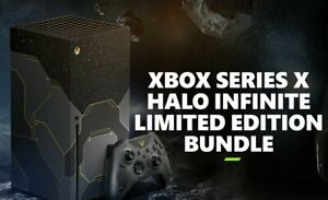 Halo Infinite Limited Edition Xbox Series X Console Brand New PRESALE ITEM!!!