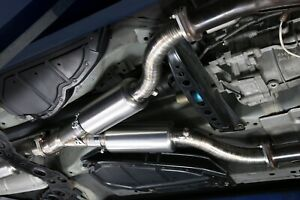 TOMEI Ti RACING TITANIUM MID Y PIPE Fits Nissan 350z VQ35DE