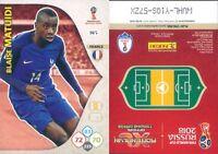 WORLD CUP  RUSSIA 2018 *Panini Adrenalyn-Card  N.145*FRANCIA-MATUIDI