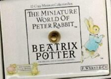12 Copy  Miniature World Of Peter Rabbit Biatrix Potter  Collection Box.