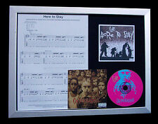 KORN Here To Stay GALLERY QUALITY CD FRAMED DISPLAY+EXPRESS GLOBAL SHIPPING