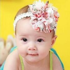 Hot Baby Flower Headband Girl Lace Infant Hair Weave Baby Accessories