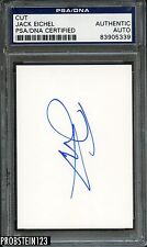 Jack Eichel Buffalo Signed Cut Auto Autograph Psa/Dna Certified
