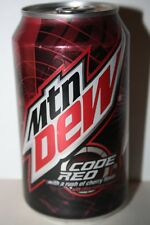 12 x USA Mountain Dew Code Red 355ml cans