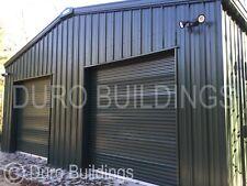 Durobeam Steel 50x75x14 Metal Clear Span Auto Salvage Garage Buildings Direct