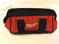 "New Milwaukee M12 13"" x 6"" x 8"" Heavy Duty Contractors Tool Bag"