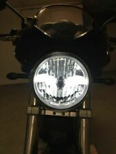 Klarglas LED Scheinwerfer schwarz Ducati Monster 700 750 800 900 black headlight
