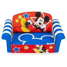 Marshmallow Furniture Flip Open Foam Kids Sofa, Mickey Mouse (Open Box)