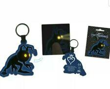 led Kingdom Hearts III 3 heartless shadow key chain light up square enix keyring