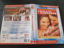 Top Cinema Movie DVD - A Walk To Remember - nice DVD.
