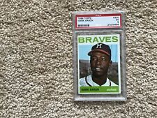 1964 Topps Hank Aaron psa 5 nicely centered please look at my other Hank Aaron