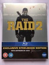 The Raid 2 Blu Ray Steelbook
