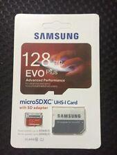 2pc New 128GB EVO PLUS Micro SD Micro SDHC 80MB/s UHS-I Class10 Memory Card Y4