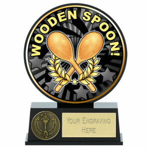 Vibe Wooden Spoon Trophy , 12 cm Free Engraving up to 30 Letters, PK222