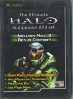 The Ultimate Halo Companion DVD Set (Original Xbox Game) *VERY GOOD CONDITION*