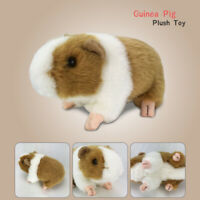 18cm Long New Plush Cuddly Critters Long Haired Emulational Guinea Pig Soft Toy
