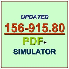 Check Point Certified Security Expert R80.10 CCSE Test 156-915.80 Exam Q PDF+SIM