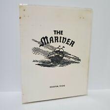 The Mariner Restaurant Vintage Menu Houston Texas 1980s