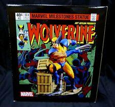 Diamond Select Wolverine Unleashed Statue Art Asylum Marvel Milestone 2006 New