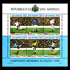 San Marino 1990 - Football World Cup - Italy Soccer - Sc 1201 MNH