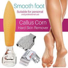 Callus Clean Corn Hard Dead Skin Cutter Shaver Pedicure Foot Tool 10 Blades Bt30