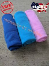 3 Pack of Cooling Towel Chilling Pad Evaporative Enduring Cool Max Rag