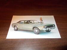 1970 AMC Hornet SST 4-Door Sedan Advertising Postcard
