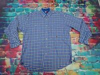 AB5 Tommy Hilfiger Checked Cotton Shirt Large Mens