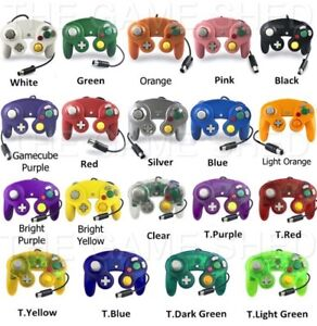 GAMECUBE CONTROLLER FOR NINTENDO GAMECUBE / WII LARGE COLOR CHOICE BRAND NEW