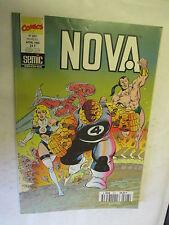 Nova Numéro 207 du 5 Avril 1995 (Le Surfer d'Argent,Les Fantastiques)  /SEMIC