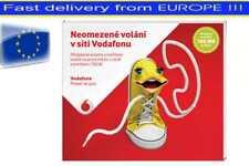 Prepaid SIM-Karte Vodafone Tschechische Republik, Startguthaben 150CZK