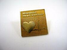 Vintage Sammlerstück Pin: Wisconsin Herz Institut