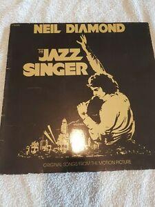 THE JAZZ SINGER NEIL DIAMOND  USA EARLY  PRESSING VINYL LP 1980  SUFFIX 1, 1