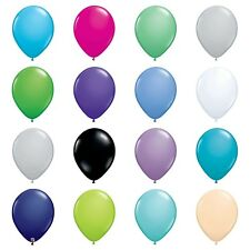"""5,10,25 or 50 QUALATEX 5"""" or 11"""" LATEX BALLOONS Plain Fashion Solid Colours"""