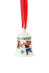 Hutschenreuther - Weihnachtsglocke 2021  Porzellanglocke Serie: Weihnachtslieder